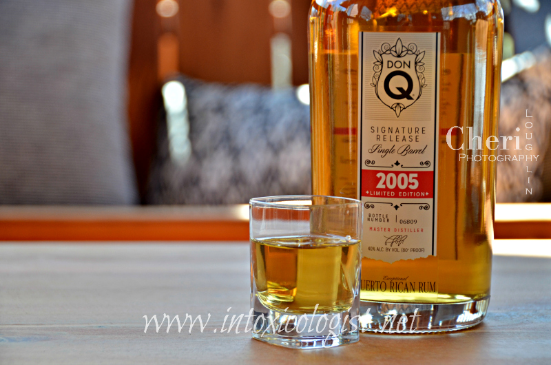 DonQ Signature Release 2005 vintage is the first single-barrel ever released by the brand. It is rich with butterscotch & molasses flavors.