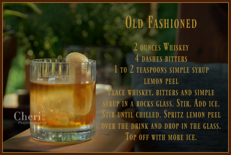 Old Fashioned Recipe Card