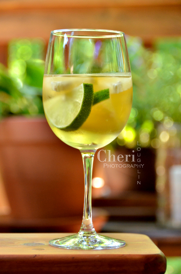 Slices White Wine Sangria