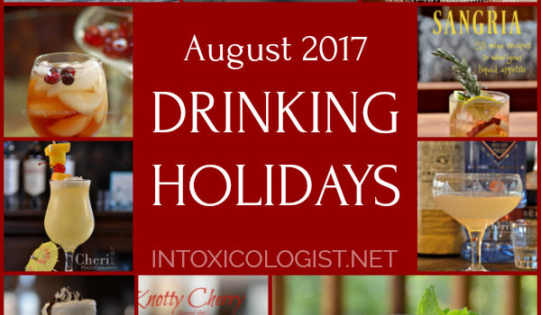 August 2017 Drinking Holidays