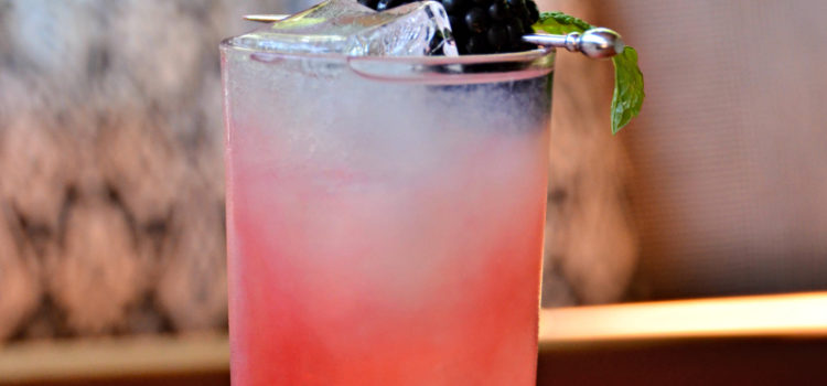 Blackberry Smash Recipe with Brockmans Gin Review