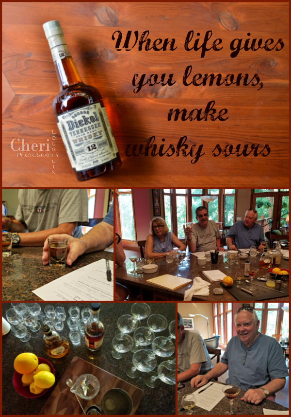 George Dickel Tennessee Whisky taste testing for review.