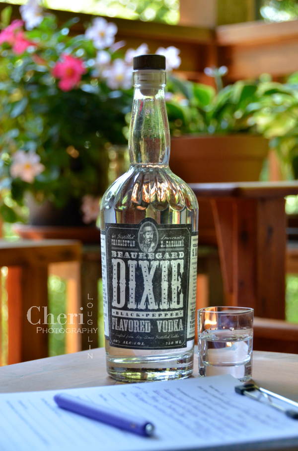 Dixie Black Pepper vodka packs a bold heated punch. It's an excellent base spirit for spicy Bloody Mary or try it in a creamy Chocolate Pepper Martini.
