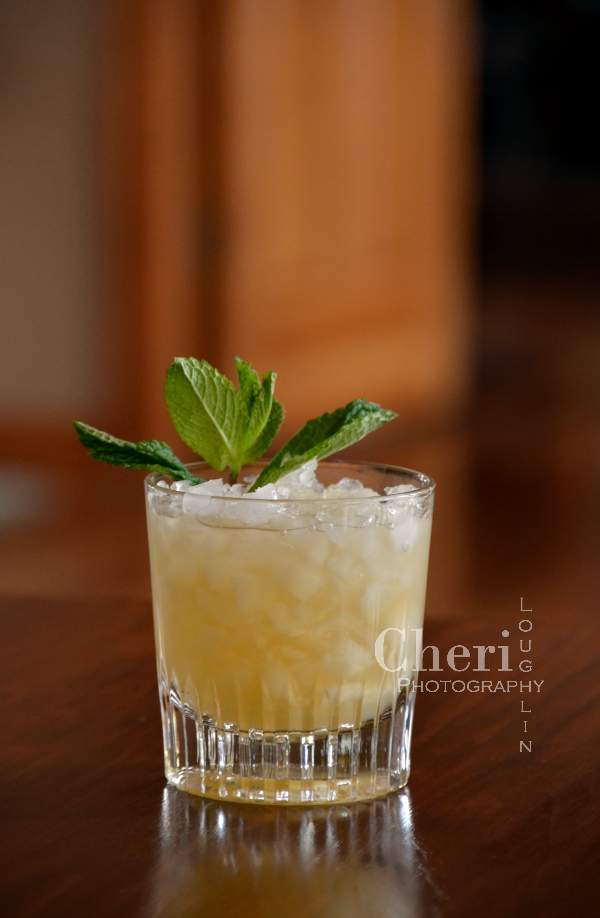 The Whiskey Smash is a fabulous alternative to the Mint Julep. It is refreshing, light, and full of fresh flavor.