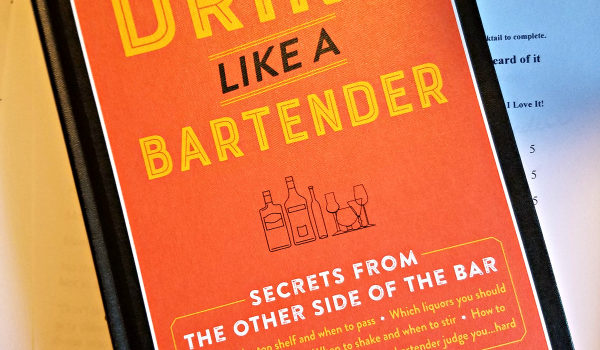 Drink Like a Bartender Book Review
