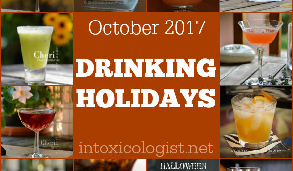 October 2017 Drinking Holidays