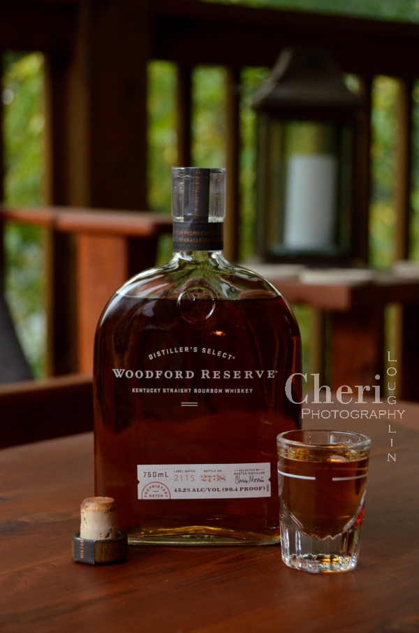 Woodford Reserve Bourbon has a buttery, nutty flavor to begin with so the Butterscotch Sandie cocktail recipe was a no brainer. Sip a little of both dessert and bourbon worlds.