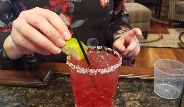 Hibiscus Watermelon Margarita