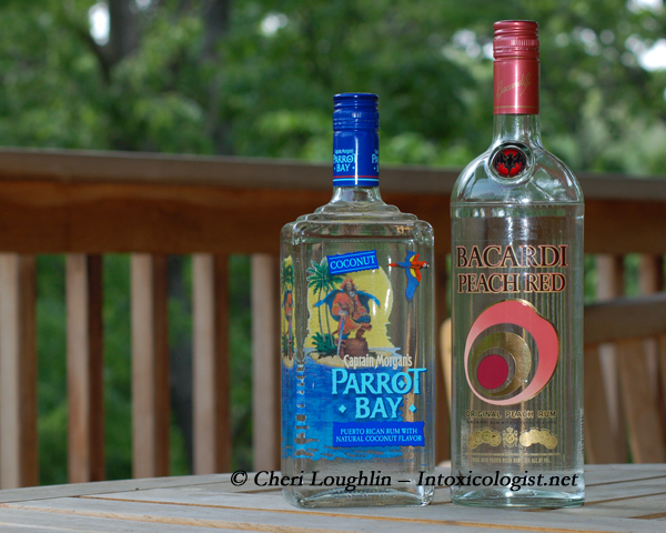 Parrot Bay and Bacardi Peach Red - photo copyright Cheri Loughlin