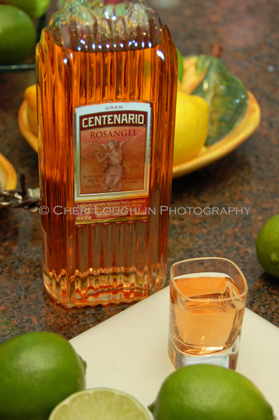 Gran Centenario Rosangel Tequila contains the subtly sweet flavor of hand-picked Hibiscus flowers. - photo by Mixologist Cheri Loughlin, The Intoxicologist
