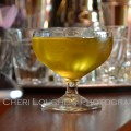 Michael Collins Green Dublin Apple Cocktail is a 3 ingredient drink recipe with Irish Whiskey, Sour Apple Schnapps, and white cranberry juice. – photo by Mixologist Cheri Loughlin, The Intoxicologist