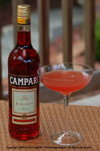 Campari Margarita copyright Cheri Loughlin