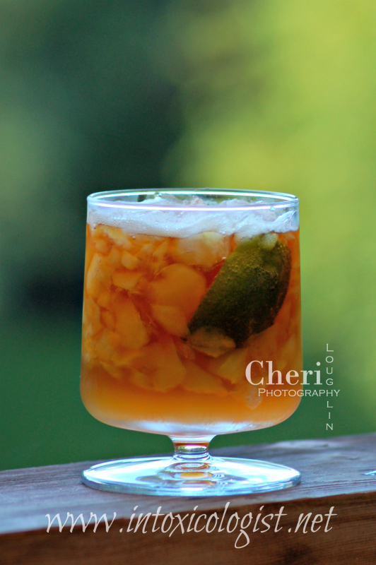 Dark and Stormy Classic Cocktail