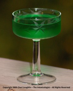 Green Devil - photo copyright Cheri Loughlin