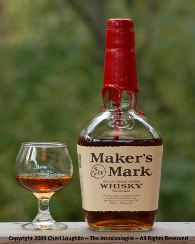 Maker's Mark Neat - copyright Cheri Loughlin