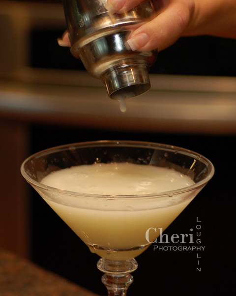 White Lady with Beefeater 24, Cointreau, Lemon, Simple Syrup, Egg White