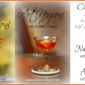 Naughty Negroni & Art' Negroni variations on the classic Negroni cocktail - www.Intoxicologist.net