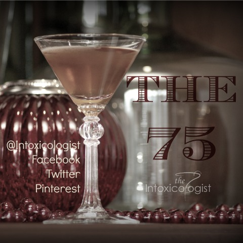 Travel back in time and shake up something different this evening. The 75 uses Armagnac, gin & absinthe
