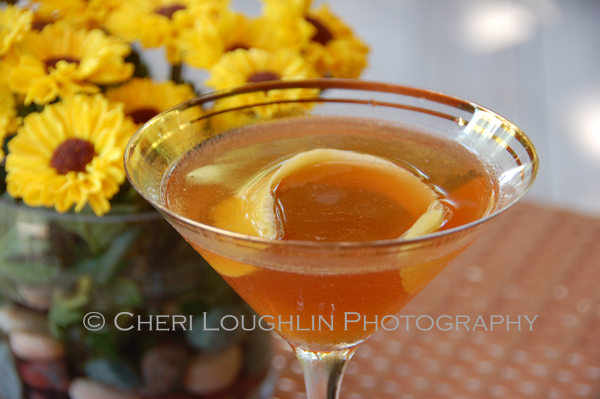 The Hennessy Martini is a 2 ingredient cocktail that builds with simplicity, yet sips with style and sophistication.  It leans toward the style of classic cocktails in my opinion. - photo by Cheri Loughlin, The Intoxicologist