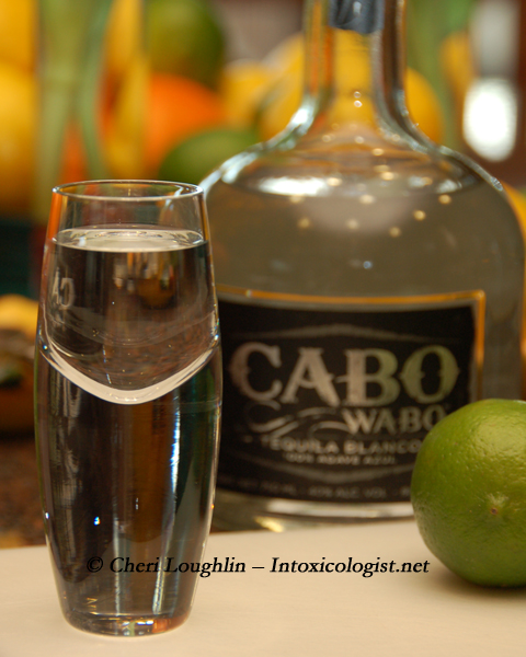 Cabo Wabo Tequila and Shot - photo copyright Cheri Loughlin