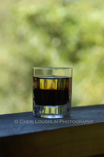 Adios layered shot is an easy two ingredient drink that can also be shaken and poured into the shot glass. It is also excellent served on the rocks.
