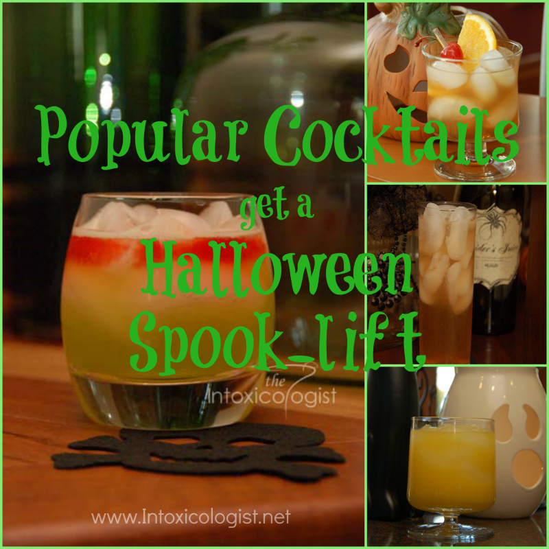 Give your favorite cocktails a Halloween spook-lift