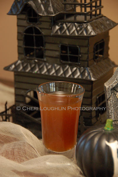 Halloween Horror Movies Shot - Nightmare on Any Street {photo credit: Mixologist Cheri Loughlin, The Intoxicologist}