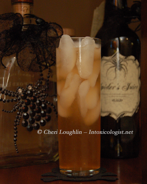 Grateful Dead Halloween Drink - photo property of Cheri Loughlin