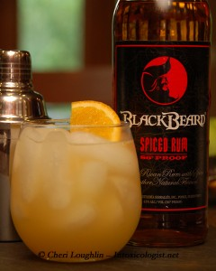 Pirates Punch created by Cheri Loughlin The Intoxicologist - photo property of Cheri Loughlin