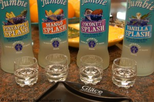 Rum Jumbie Flavored Rum Tasting - photo property of Cheri Loughlin