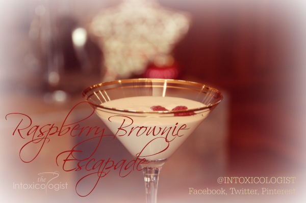 There is no need to squander away delicious shots with one gulp when a few extra additions could make the mini into something marvelous. This Raspberry Brownie Escapade cocktail will keep your taste buds busy a little longer, but you'll definitely want another round!