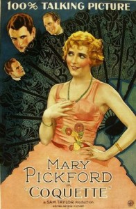 Mary Pickford in Coquette - creative commons use