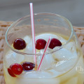 Wild White Tea Low Calorie Cocktail at approximately 114 calories {recipe and photo credit: Mixologist Cheri Loughlin, The Intoxicologist}