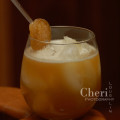 Rousing Red Ginger - Red Stag by Jim Beam, Ginger, Peach Nectar, Ginger Peach Tea