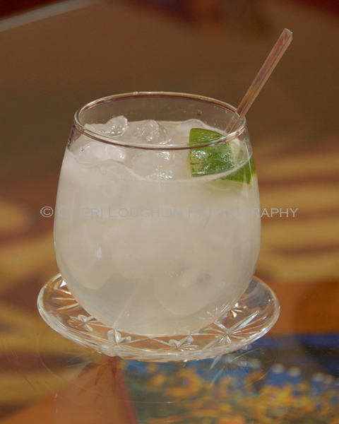 A Tale of Two Limes - low calorie vodka drink loosely based on the popular Gin and Tonic classic cocktail