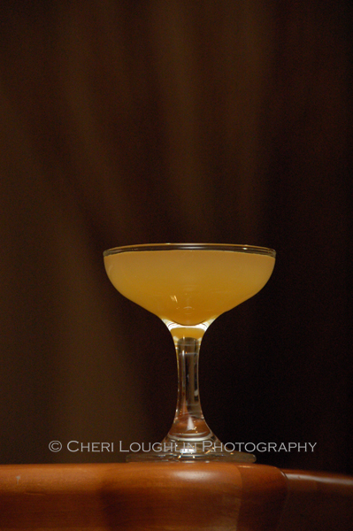 Bronx Classic Cocktail - made with gin, dry vermouth, sweet vermouth and orange juice