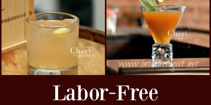 Make your Labor Day weekend Labor Free with any number of these delicious two ingredient drinks. They all include a base spirit with carbonated beverage or juices.