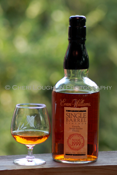 Evan Williams Single Barrel Neat - photo copyright Cheri Loughlin