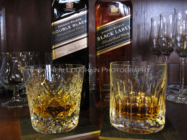 Johnnie Walker Double Black and Black - photo copyright Cheri Loughlin