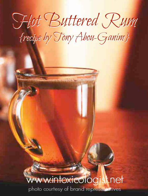 January 17 is Hot Buttered Rum Day. Enjoy this Hot Buttered Rum created by Tony Abou-Ganim using Mount Gay Rum.