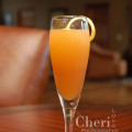 Le Grand Brielle means Exalted Goddess; Mango, Licor 43, Benedictine and orange liqueur bring balance and charm to this spicy sweet champagne cocktail. {Recipe & Photo credit: Mixologist Cheri Loughlin}