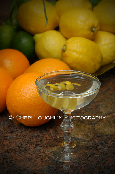 Martini Fruit Background photo copyright Cheri Loughlin - Cocktail Stock Photography www.cheriloughlin.com
