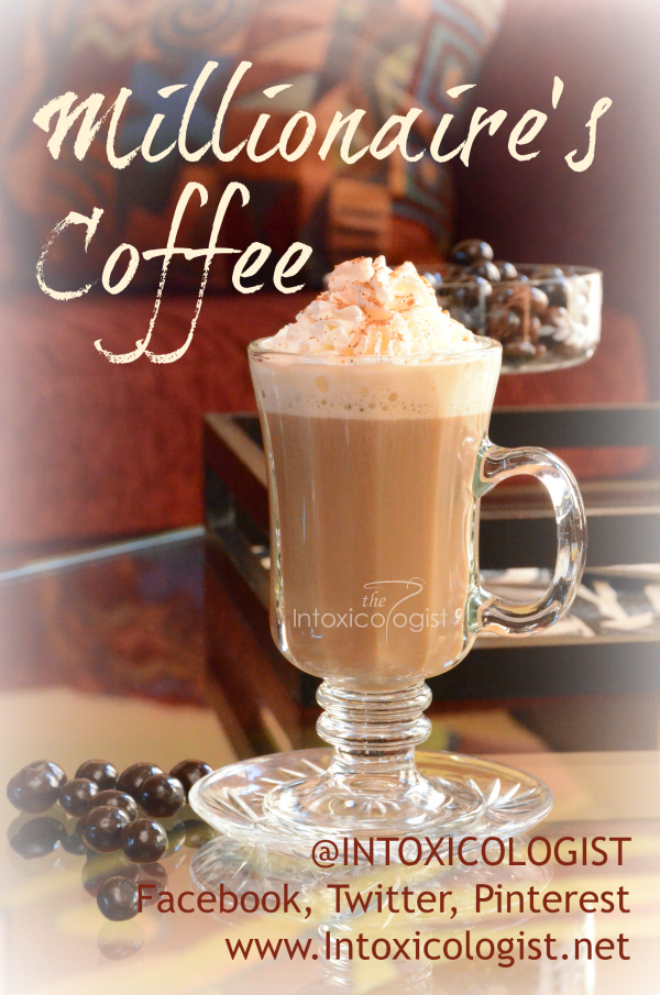 Delve into this rich Millionaire's coffee first thing in the morning and you'll feel like a million bucks all day.