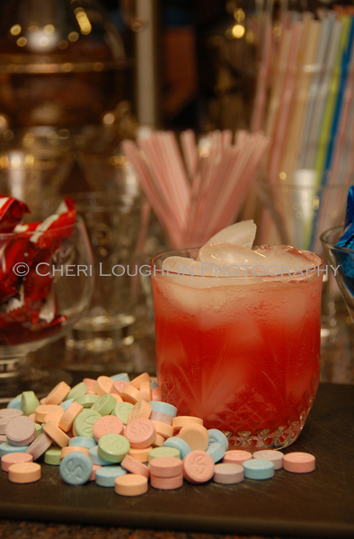 Sweetheart Tart Mocktail {recipe and photo credit: Mixologist Cheri Loughlin, The Intoxicologist}