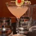 En Vogue is a light, summery, classically styled cocktail. Sure to be a crowd pleaser. - photo and cocktail recipe by Mixologist Cheri Loughlin
