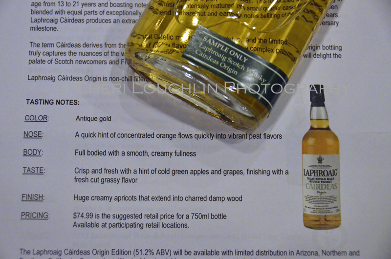Laphroaig Islay Single Malt Scotch Whisky Cairdeas Origin 064 photo copyright Cheri Loughlin