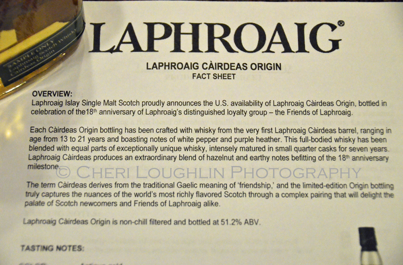 Laphroaig Islay Single Malt Scotch Whisky Cairdeas Origin 065 photo copyright Cheri Loughlin