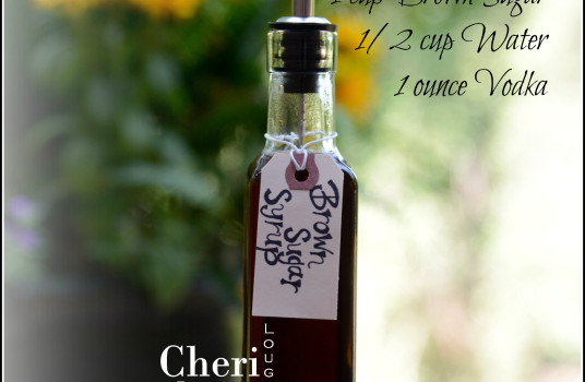 Brown Sugar Syrup is easy to make with minimal ingredients. Excellent for use in a Dark Rum Daiquiri. www.Intoxicologist.net