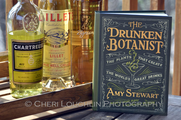 The Drunken Botanist, The Plants That Create The World's Great Drinks - book by Amy Stewart - photo by Cheri Loughlin