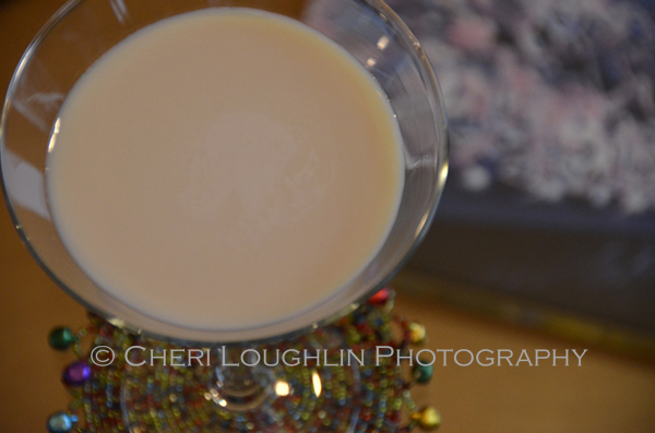 Blonde Bombshell Cocktail - photo and recipe by Mixologist Cheri Loughlin, The Intoxicologist